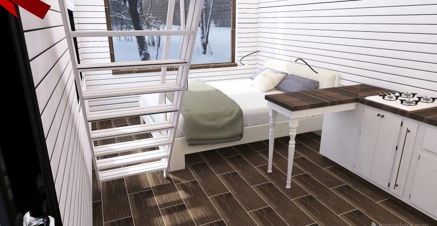 Гостевой дом Interior Design Render