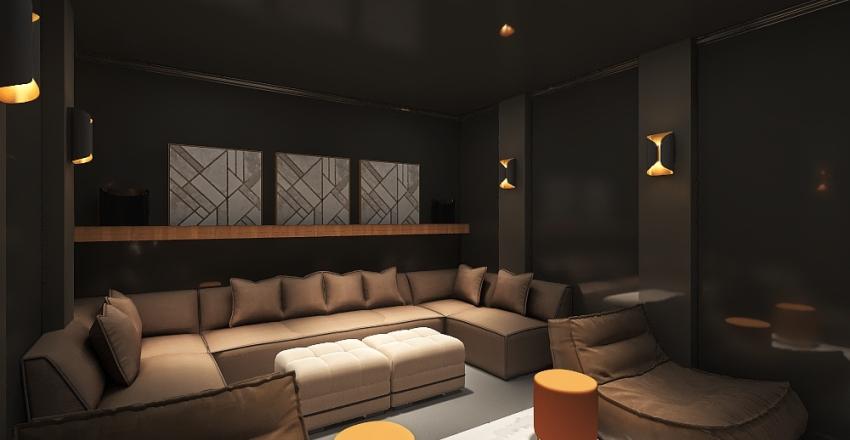 Final_Mirvane&JorgeMovieRoom Interior Design Render