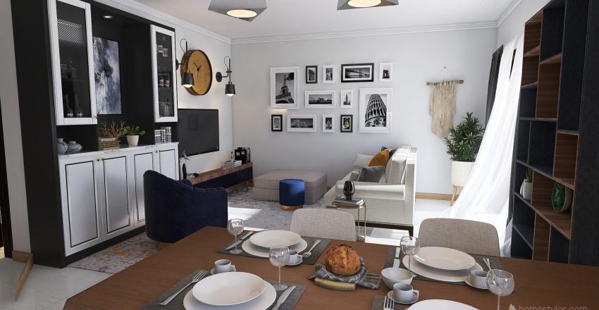 Numero 9 Interior Design Render