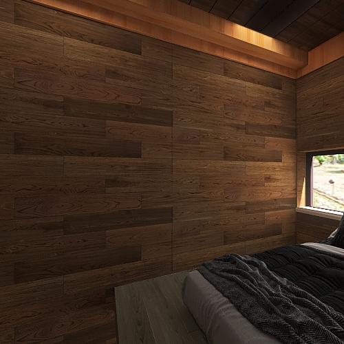 wood house1 Interior Design Render