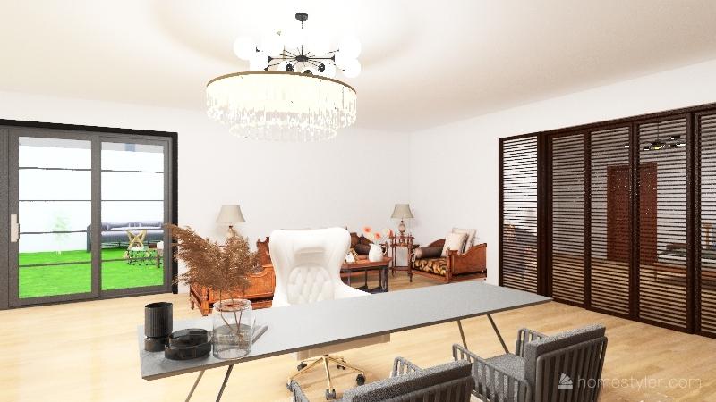 mansión lucia/versión Kendall Interior Design Render
