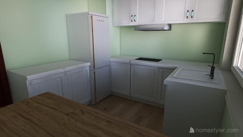 TK apt3 Interior Design Render