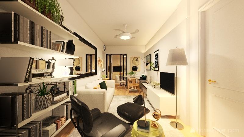 APTO - Porta Vidro Interior Design Render
