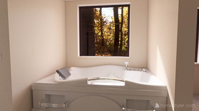 1 Bdr Home Interior Design Render