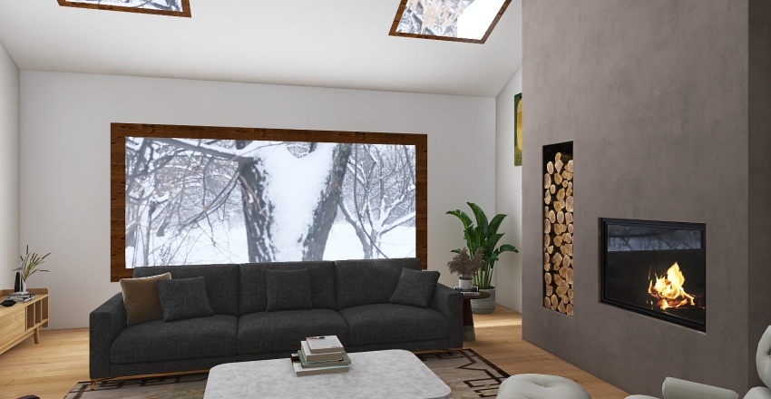 Copy of mountain Interior Design Render