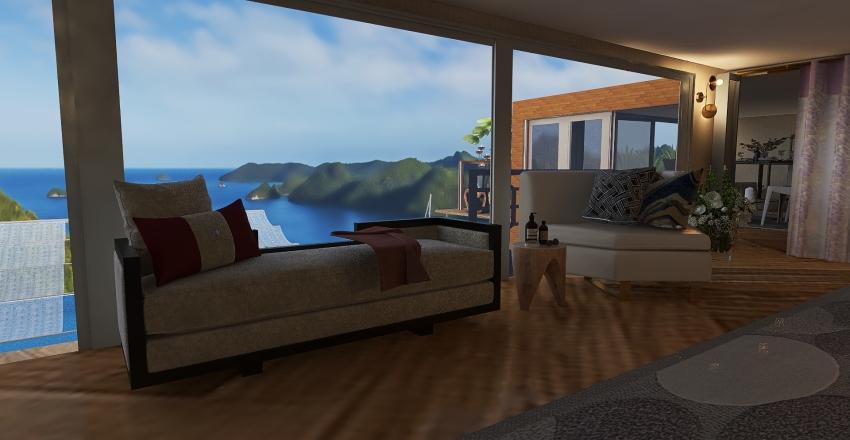 #HSDA2020Residential Paradise Resort Interior Design Render
