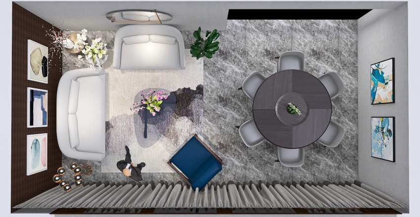 Practica 1 DIR-05 Interior Design Render