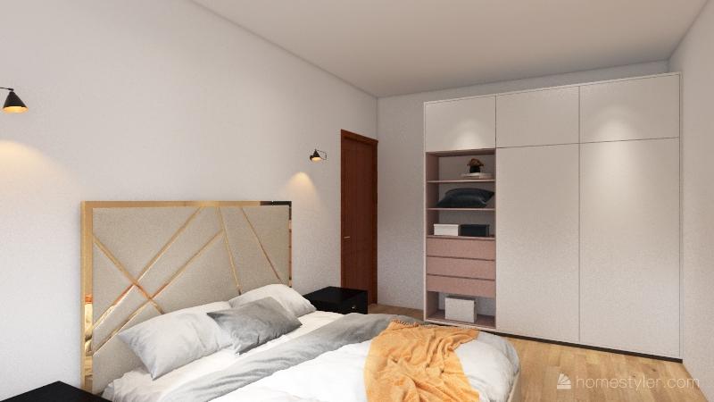 CHALET Interior Design Render