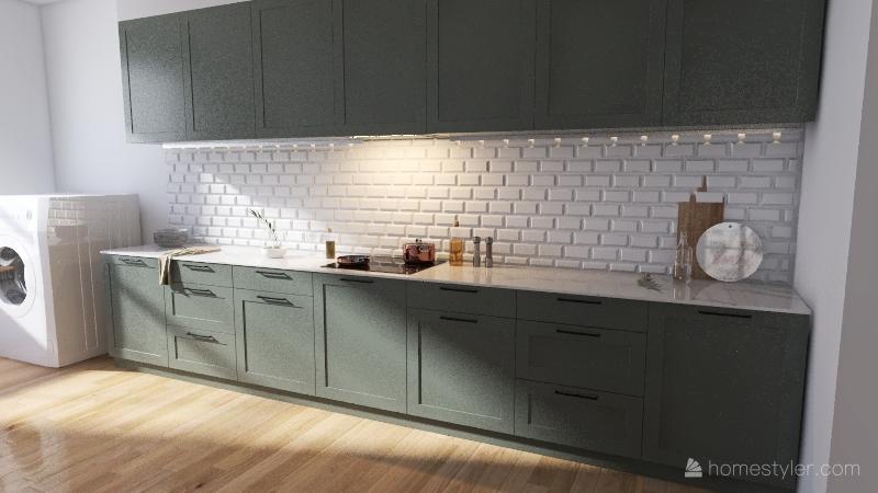 apartamento kingwell Interior Design Render
