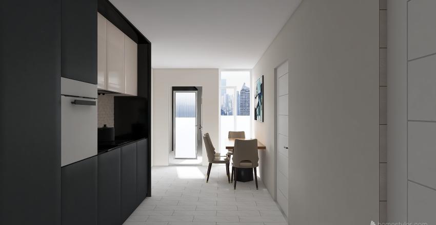 Chmielewskiego24 Interior Design Render