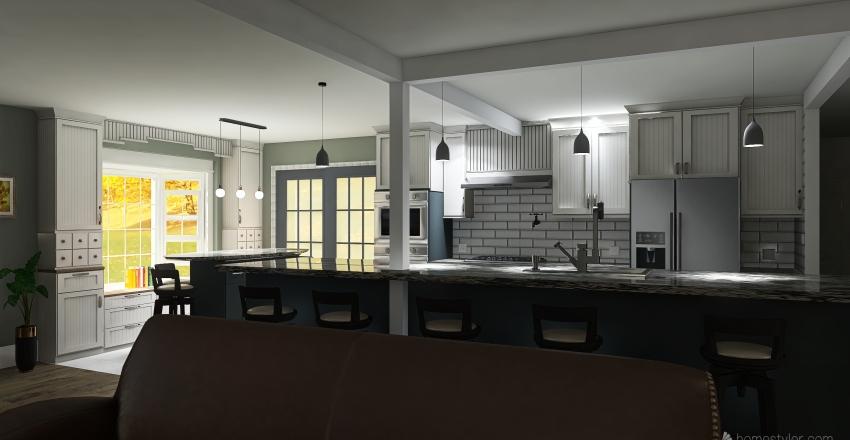 Design #1 v2_3800 main floor Interior Design Render