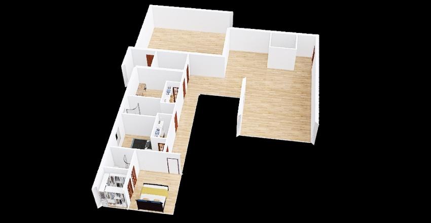 casa nuova 3 Interior Design Render