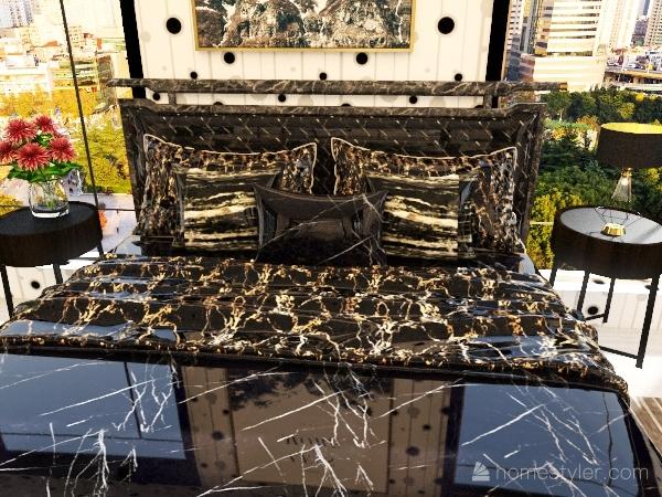 marble and black room.1 Interior Design Render