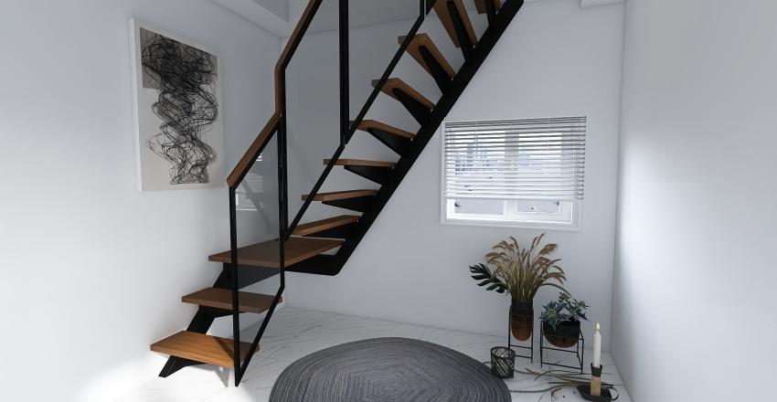 Staircase Interior Design Render