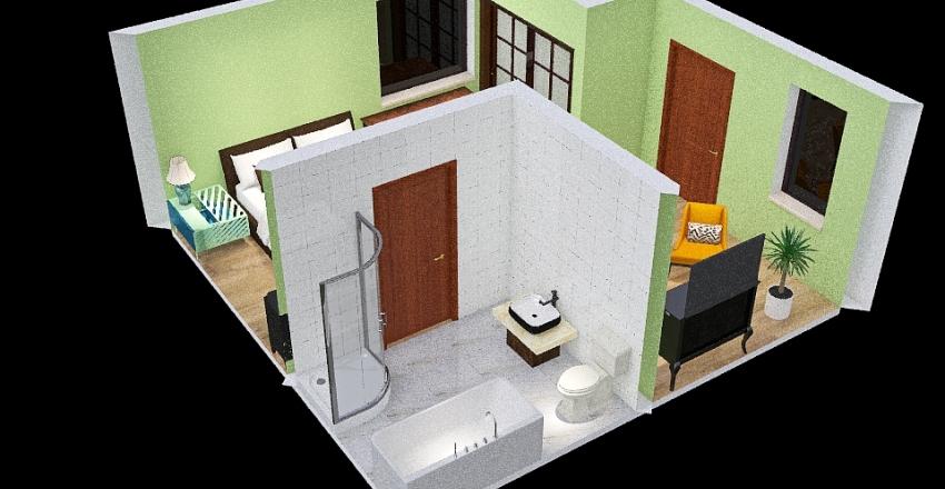 UltimateHangoutBedroom Interior Design Render