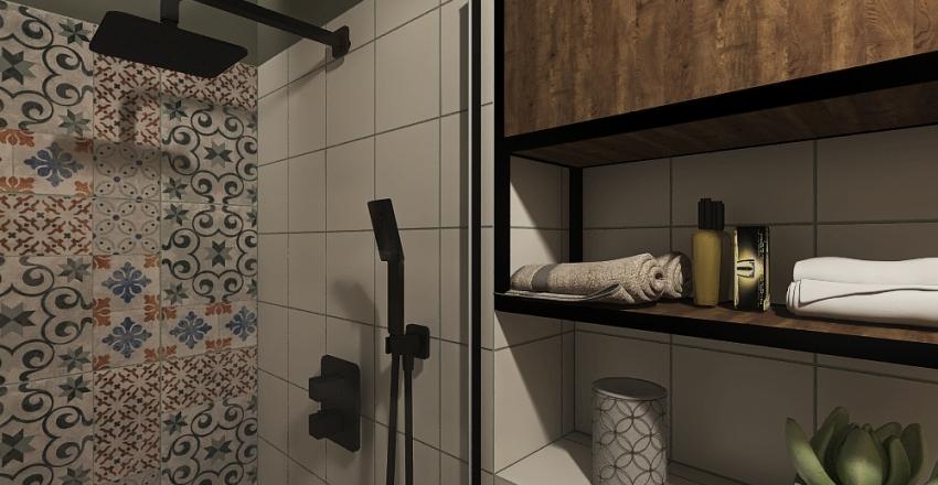 Łazienka dół Interior Design Render