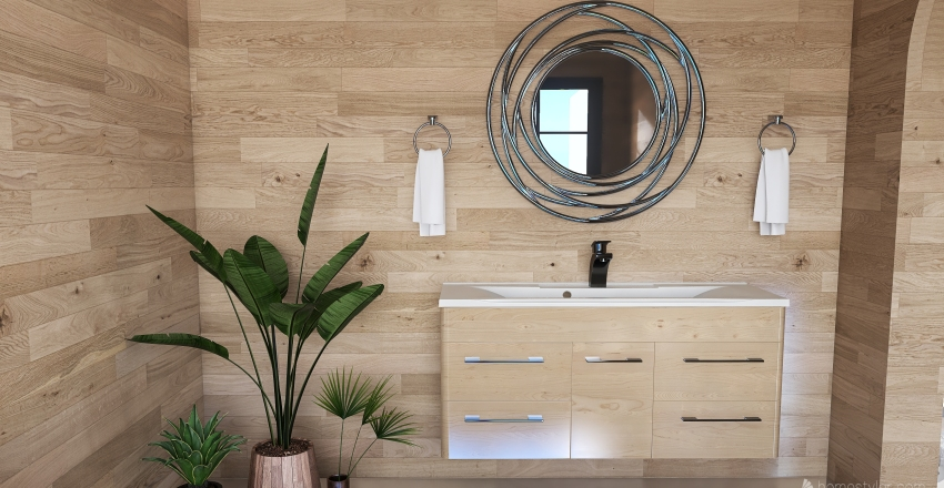 vacation Interior Design Render
