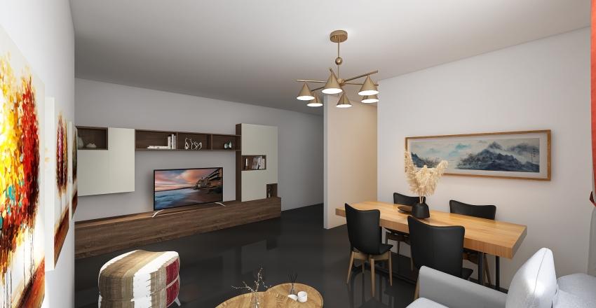 España, calle Germanies Interior Design Render