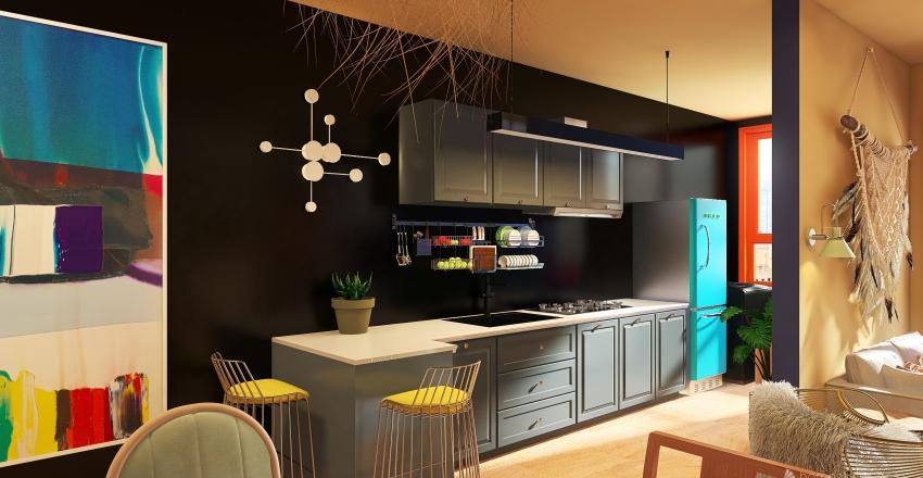 Casa de Cores Interior Design Render