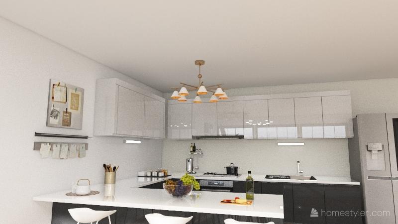 City House Interior Design Render