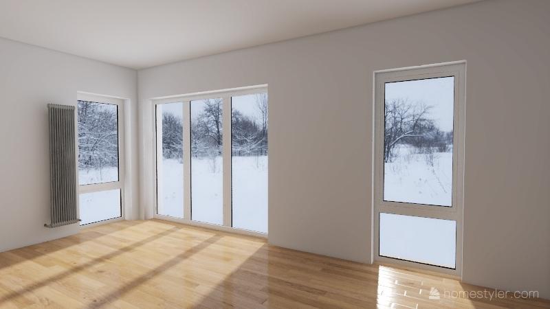 lubuska podloga Interior Design Render