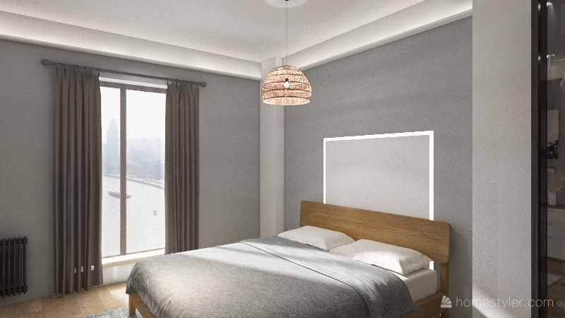 my room Interior Design Render