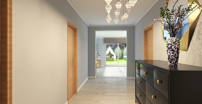 house 14 Interior Design Render