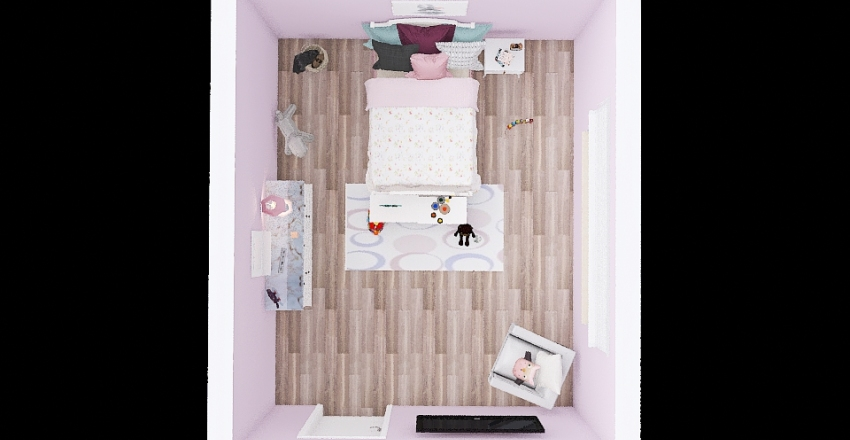 bby room Interior Design Render