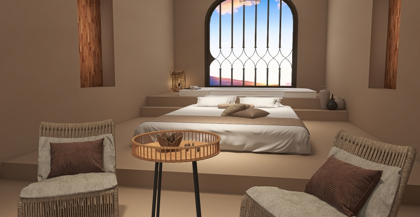 Greece Interior Design Render