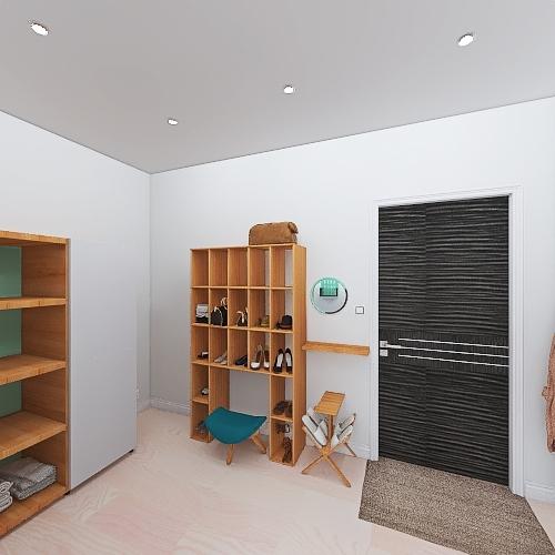 Vancouver Condo Interior Design Render