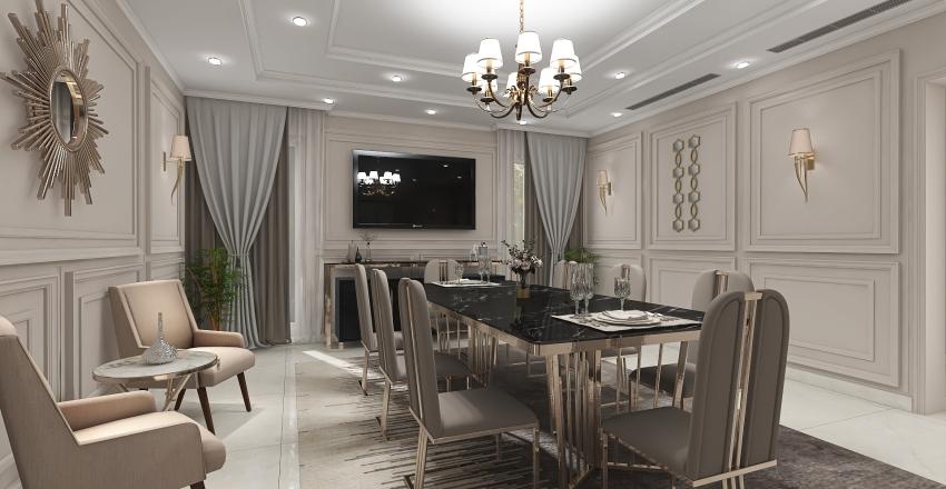 VILLA ABHA-GROUND FLOOR Interior Design Render
