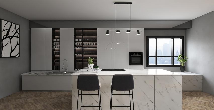 #HSDA2020UrbanKitchen #HSDA2020Commercial Interior Design Render