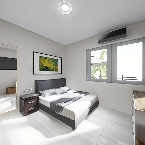 Rumah Putih versi Fix Interior Design Render