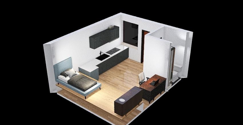 TinyHome Interior Design Render