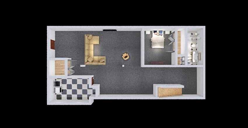 S&T Basement Interior Design Render