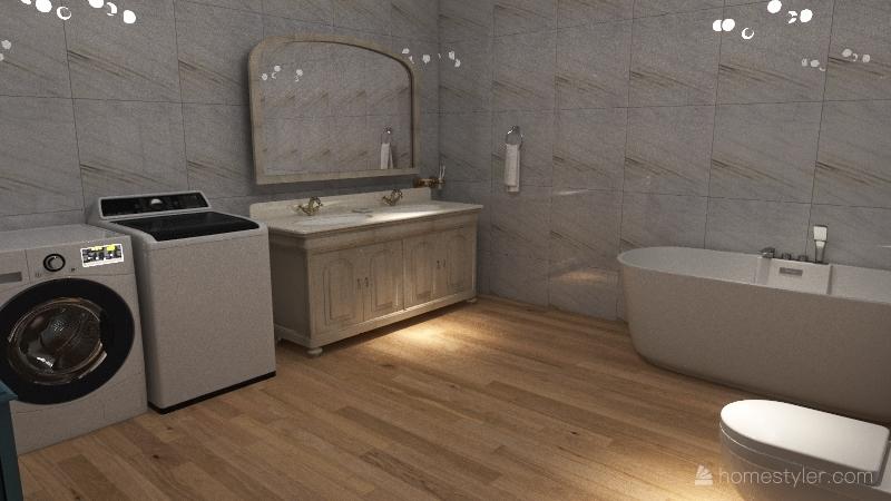 Bir Milyonerin Mini Yazlık Evi Interior Design Render