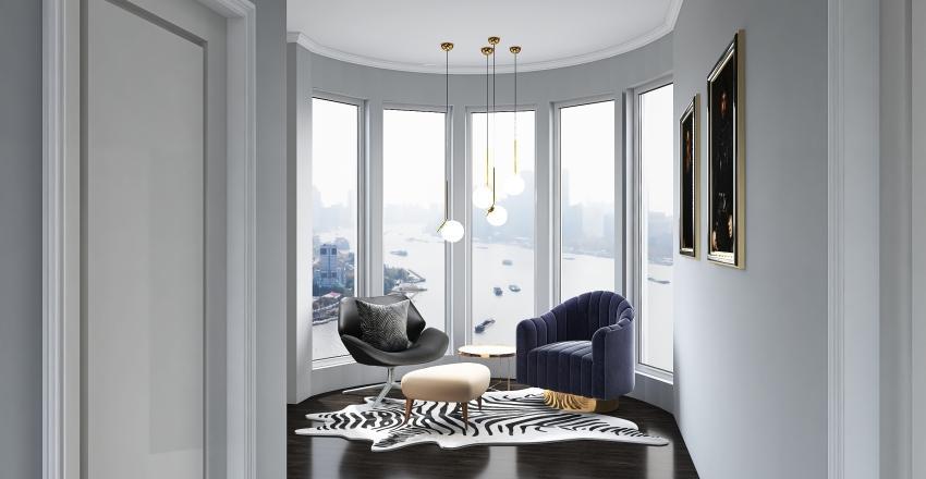 Art Deco-2nd Floor Interior Design Render