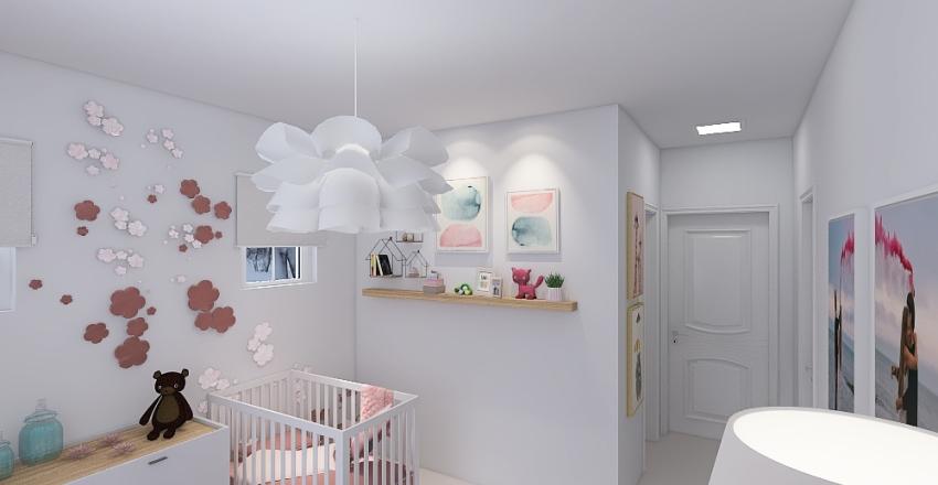 Megna Nursery Interior Design Render