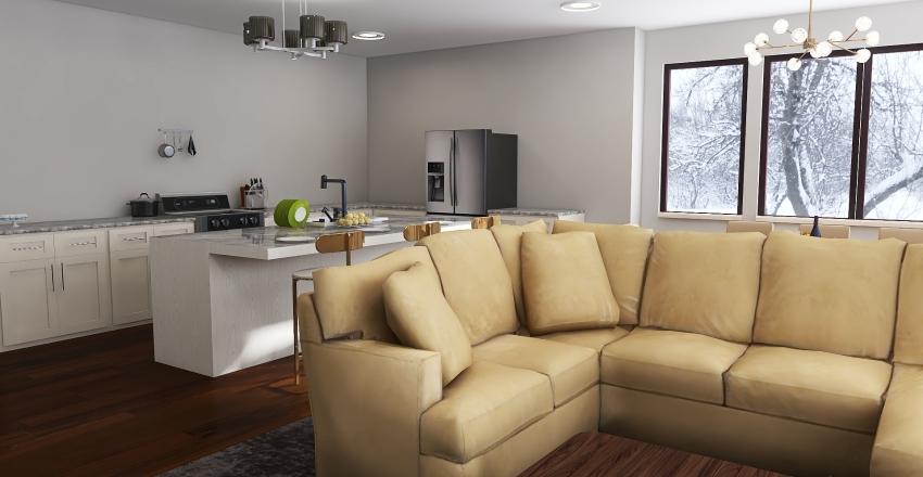 Akash Gandhi Condo Design Interior Design Render