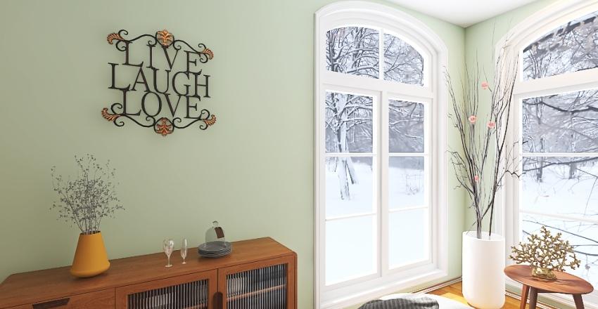 First Time Buyer Interior Design Render