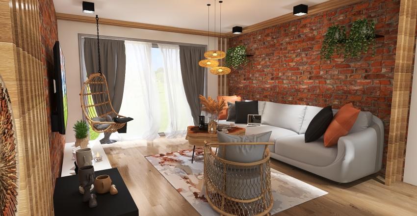 SALONSTYLSKANDYNAWSKI Interior Design Render