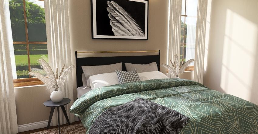 Comfortable Interior Design Render