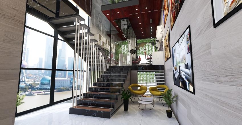 #Architectural Design Office Interior Design Render
