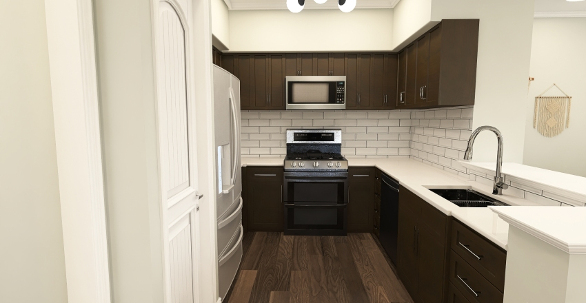 Cozy Apartment  Interior Design Render