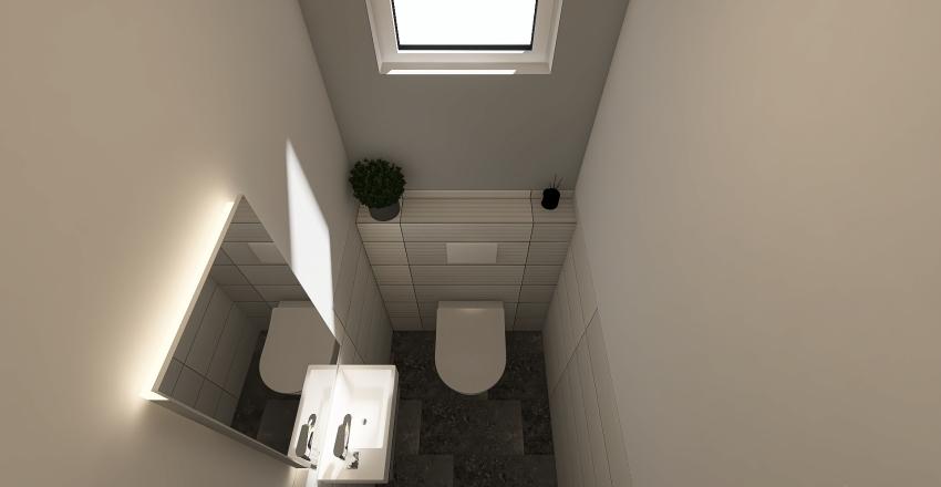 Hungary- Gödöllő- Bathroom I. - downstairs Interior Design Render