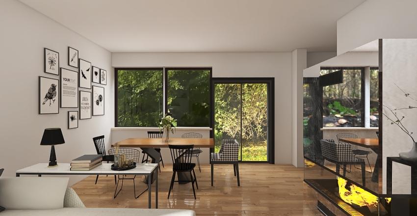 Wolf House Interior Design Render