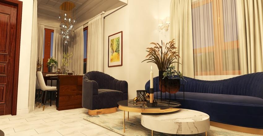 Villa Soussi 1rst floor ( contemporanian morrocan house) Interior Design Render