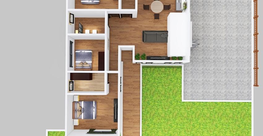v2_CASA EN L Interior Design Render