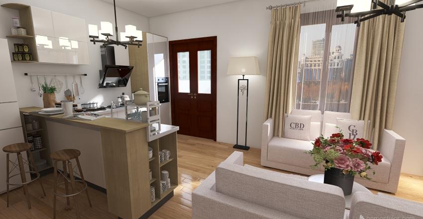 VIA GIARDINI Interior Design Render