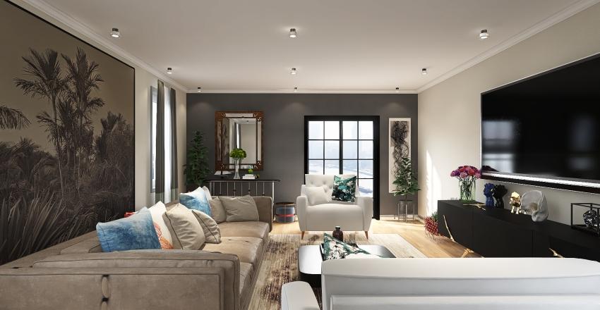LIVING ROOM CHRONICLES Interior Design Render